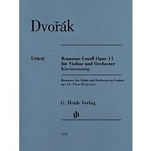 G. Henle Verlag Romance in F Minor Op. 11 (Violin and Piano) Henle Music Folios Series Softcover by Antonín Dvorák