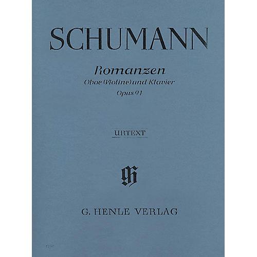 G. Henle Verlag Romances, Op 94 (for Oboe & Piano) Henle Music Folios Series Book-thumbnail