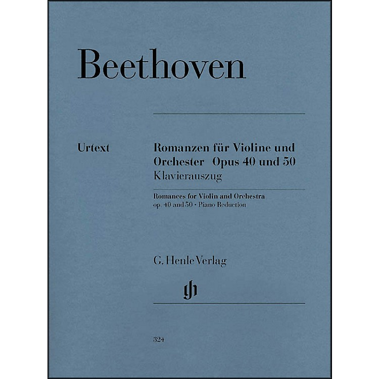 G. Henle VerlagRomances for Violin And Orchestra Op. 40 & 50 In G And F Major By Beethoven