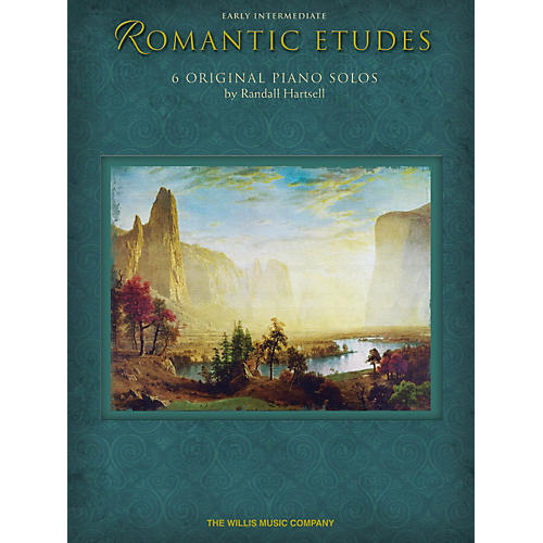 Willis Music Romantic Etudes Willis Series by Randall Hartsell (Level Early Inter)