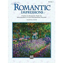 Alfred Romantic Impressions Book 3