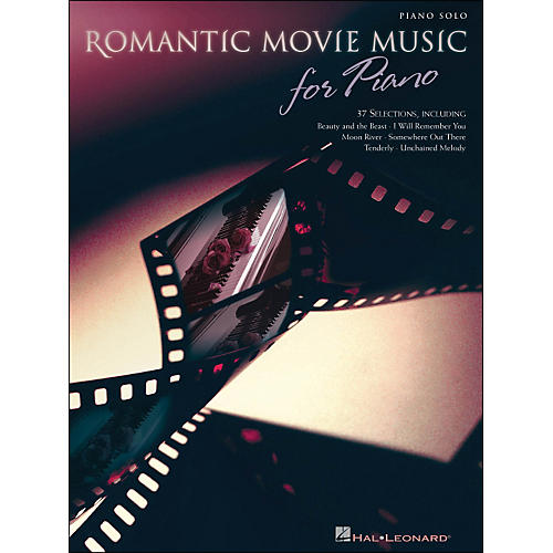 Hal Leonard Romantic Movie Music for Piano arranged for piano solo