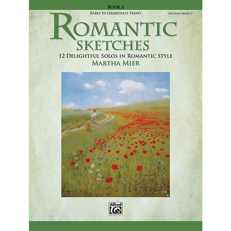 AlfredRomantic Sketches Early Intermediate Piano Book 1