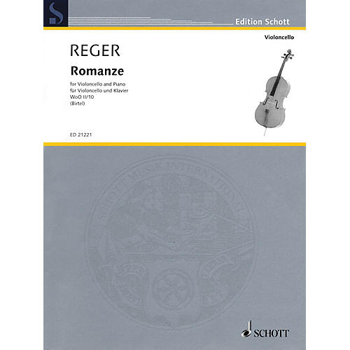 Schott Romanze WoO II/10 (Cello and Piano) String Series Softcover-thumbnail
