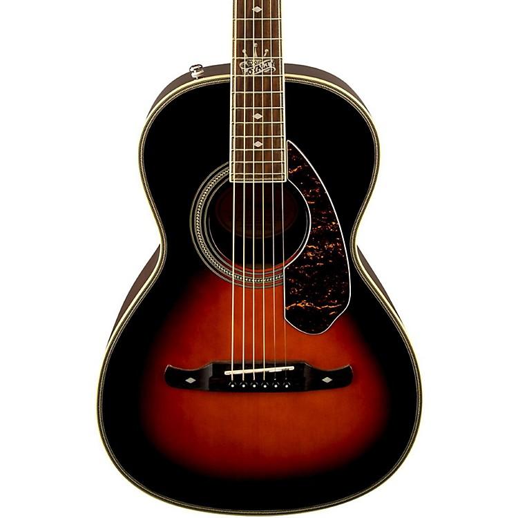 FenderRon Emory Loyalty Parlor Acoustic GuitarVintage Sunburst