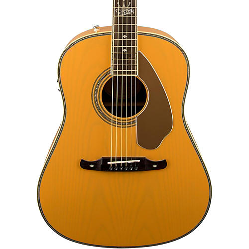 Fender Ron Emory Loyalty Slope Shoulder Acoustic-Electric Guitar Blonde