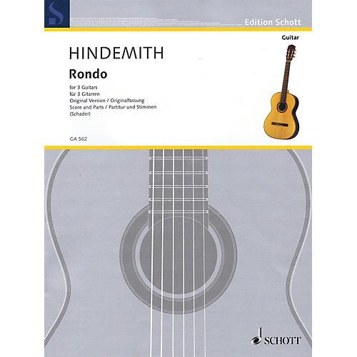 Schott Rondo (3 Guitars Original Version) Guitar Series Softcover
