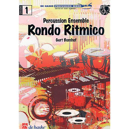 De Haske Music Rondo Ritmico Concert Band Arranged by Gert Bomhof-thumbnail