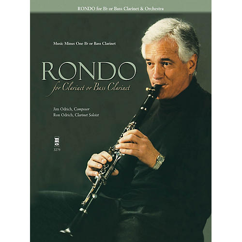 Music Minus One Rondo for Clarinet or Bass Clarinet Music Minus One Series Performed by Ron Odrich-thumbnail
