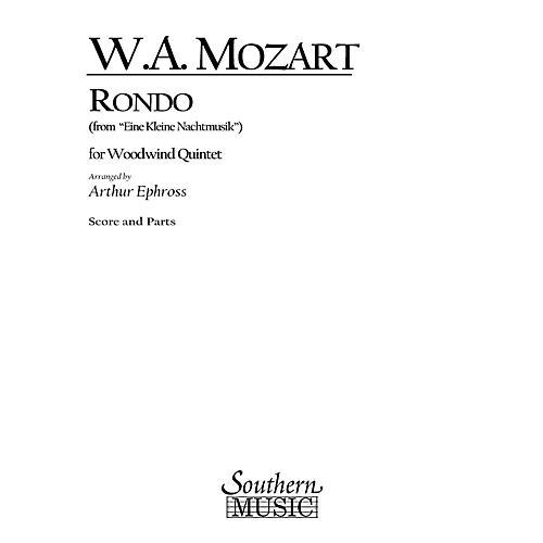 Southern Rondo (from Eine Kleine Nachtmusik) (Woodwind Quintet) Southern Music Series Arranged by Arthur Ephross-thumbnail