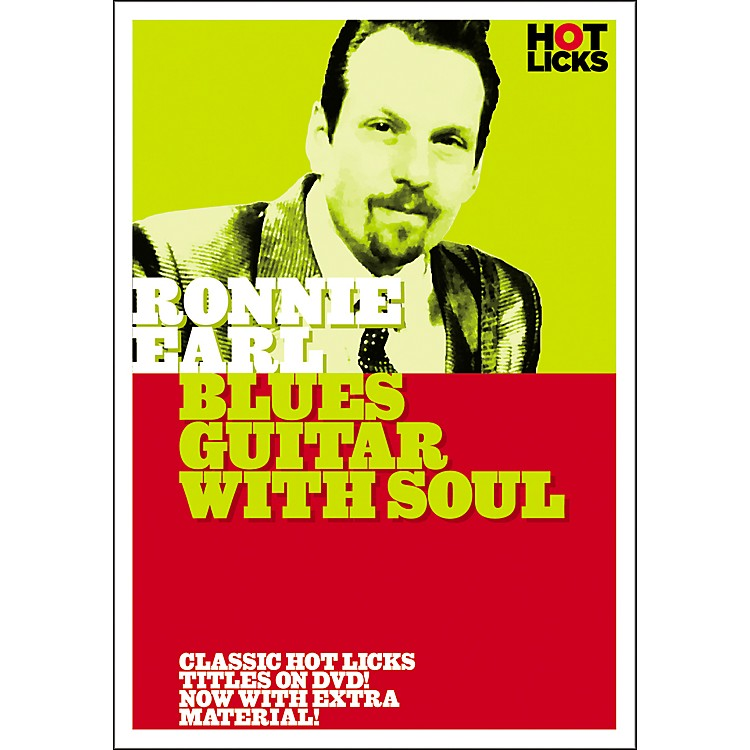 Hot LicksRonnie Earl: Blues Guitar with Soul DVD