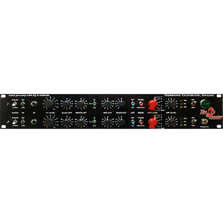 Thermionic CultureRooster Stereo Mic/Line/DIPre EQ & Attitude, with Balanced Output