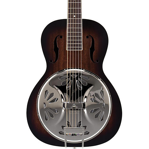 Gretsch Guitars Root Series G9220 Bobtail Round Neck Acoustic/Electric Resonator 2-Color Sunburst