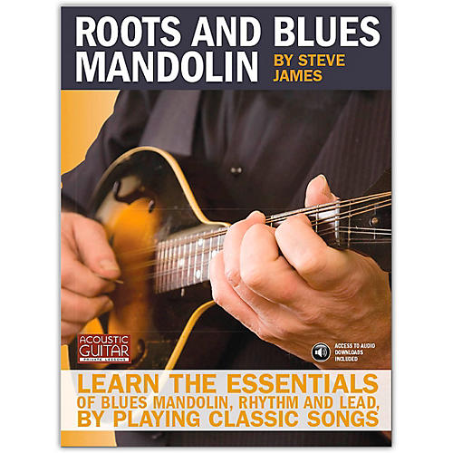 Hal Leonard Roots And Blues Mandolin (Acoustic Guitar Series) Book/CD