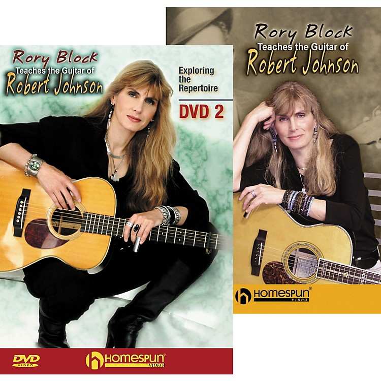HomespunRory Block Teaches the Guitar of Robert Johnson (2-DVD Set)