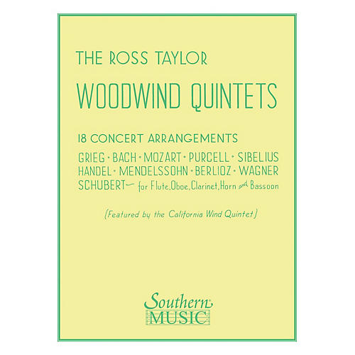 Southern Ross Taylor Woodwind Quintets (Woodwind Quintet) Southern Music Series Arranged by Ross Taylor-thumbnail