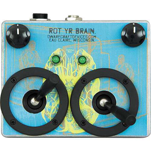 Dwarfcraft Rot Yr Brain Volume Guitar Effects Pedal