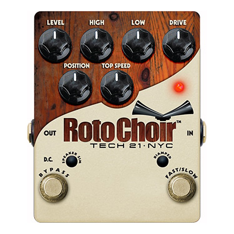 Tech 21 Roto Choir Guitar Effects Pedal