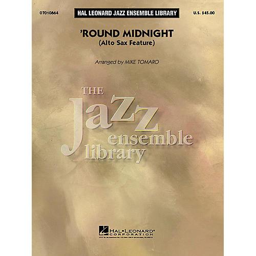 Hal Leonard Round Midnight (Alto Sax Feature) Jazz Band Level 4 Arranged by Mike Tomaro-thumbnail
