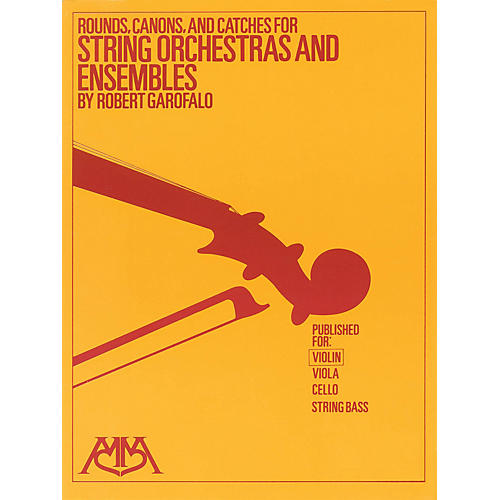 Meredith Music Rounds, Canons & Catches for String Orchestra & Ensembles Meredith Music Resource by Robert Garofalo-thumbnail