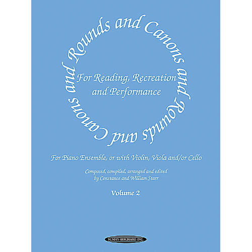 Alfred Rounds and Canons for Reading, Recreation and Performance, Piano Ensemble, Volume 2