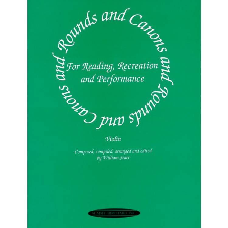 Alfred Rounds and Canons for Reading Violin Ensemble