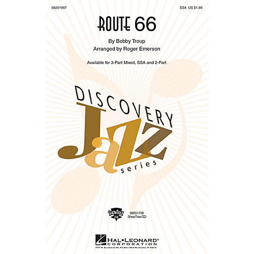 Hal Leonard Route 66 2-Part Arranged by Roger Emerson