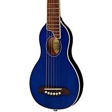 Open BoxWashburn Rover Travel Guitar