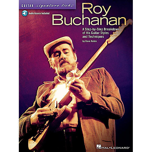 Hal Leonard Roy Buchanan - Guitar Signature Licks Book/Online Audio-thumbnail