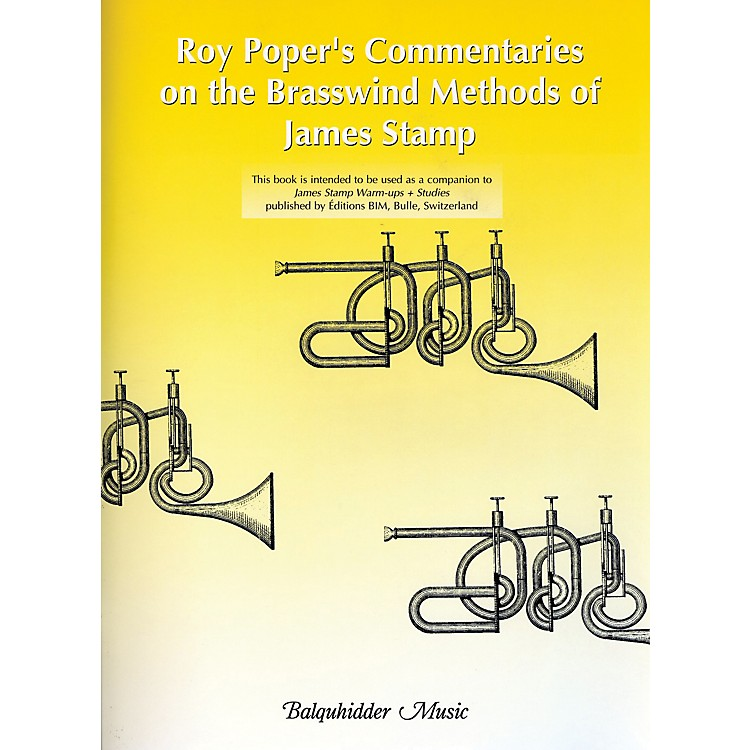 Carl Fischer Roy Poper's Commentaries on the Brasswind Methods of James Stamp Book