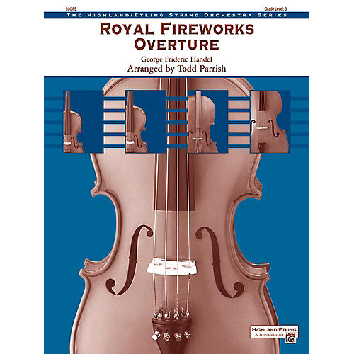 Alfred Royal Fireworks Overture String Orchestra Grade 3-thumbnail