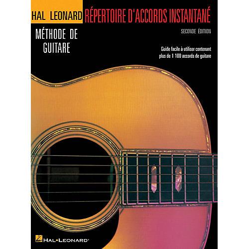 Hal Leonard Répertoire D'Accords Instantané - Seconde Édition Guitar Method Series Softcover Written by Various