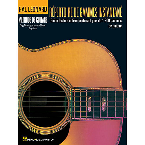 Simple Book Cover Guitar ~ Hal leonard répertoire d gammes instantané guitar method