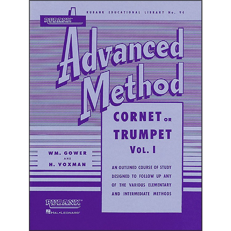 Hal Leonard Rubank Advanced Method for Cornet Or Trumpet Volume 1