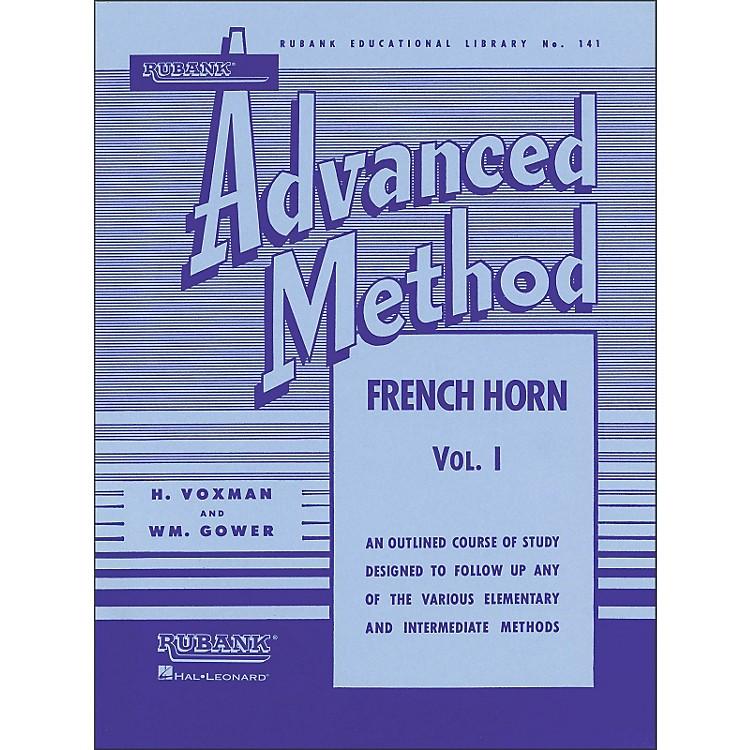 Hal LeonardRubank Advanced Method for French Horn Volume 1