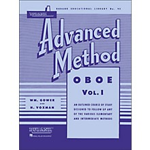 Hal Leonard Rubank Advanced Method for Oboe Volume 1