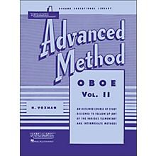 Hal Leonard Rubank Advanced Method for Oboe Volume 2
