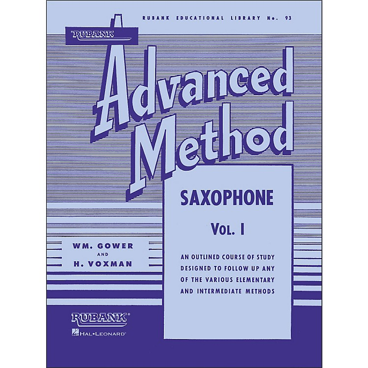 Hal Leonard Rubank Advanced Method for Saxophone Volume 1