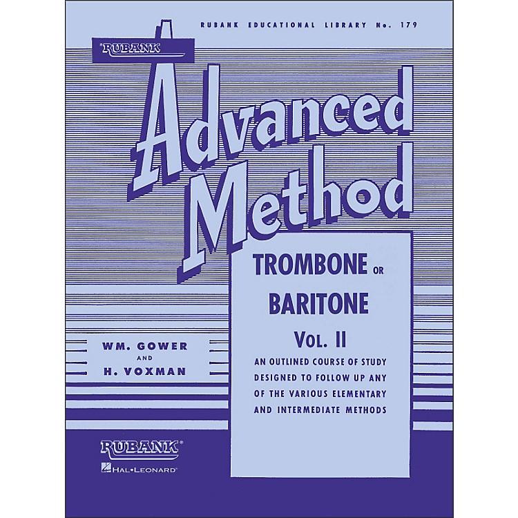 Hal LeonardRubank Advanced Method for Trombone Or Baritone Volume 2