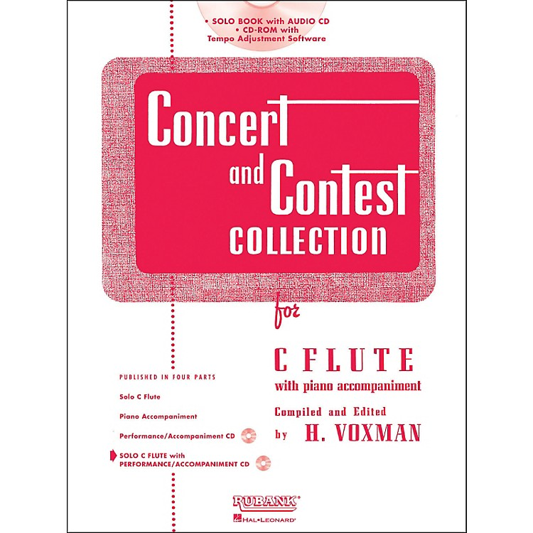 Hal LeonardRubank Concert And Contest Collection - Flute (Book/CD)