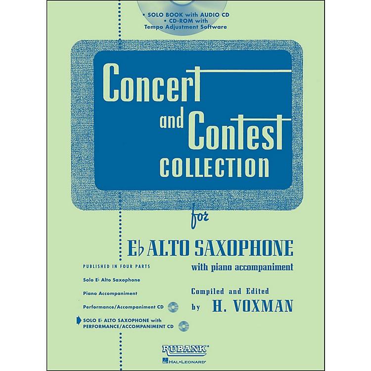 Hal LeonardRubank Concert And Contest Collection Alto Sax Book/CD