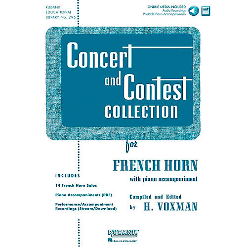 Hal Leonard Rubank Concert And Contest Collection F Horn Book/CD-thumbnail