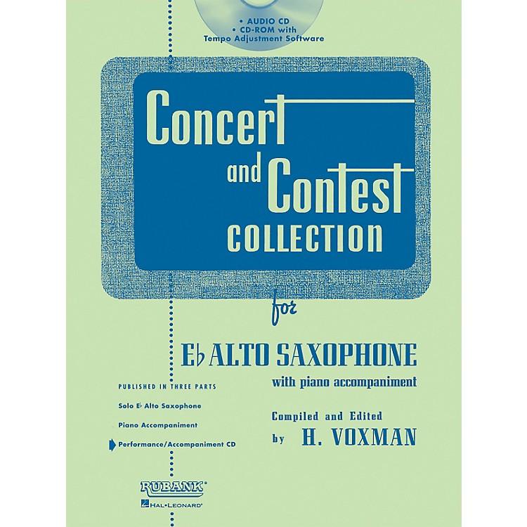 Hal LeonardRubank Concert And Contest For Alto Sax - Accompaniment CD
