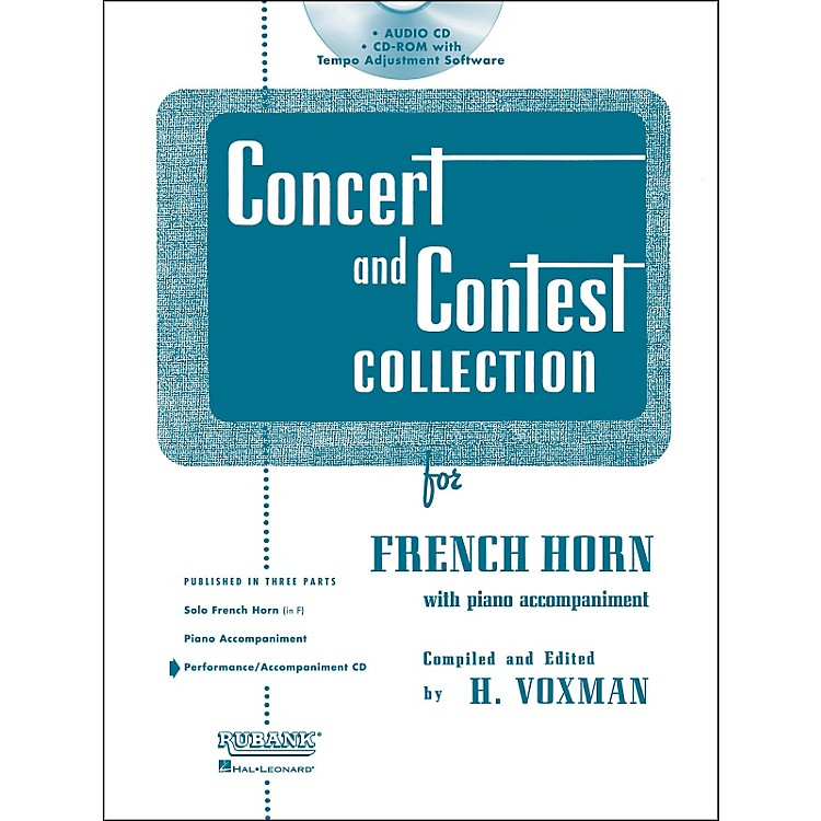 Hal LeonardRubank Concert And Contest For French Horn - Accompaniment CD