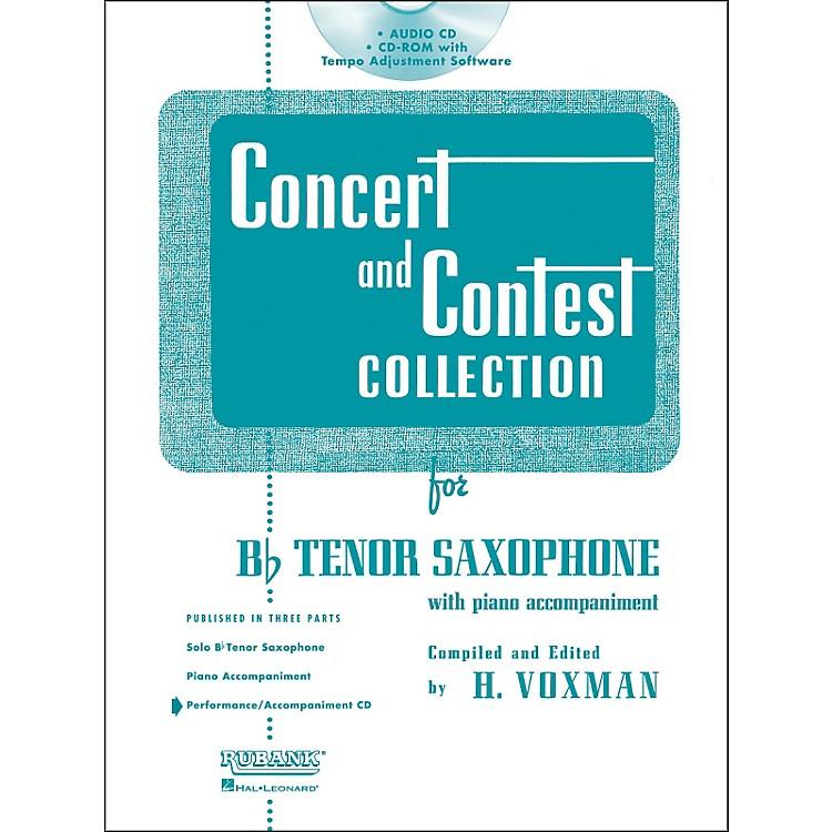 Hal LeonardRubank Concert And Contest For Tenor Sax - Accompaniment CD