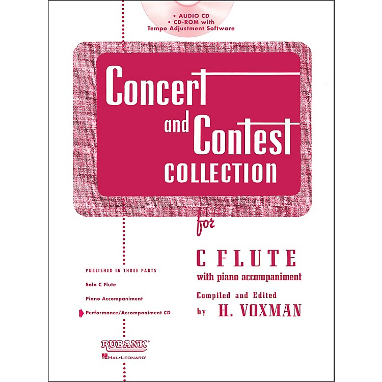 Hal LeonardRubank Concert and Contest Collection for Flute - Accompaniment CD