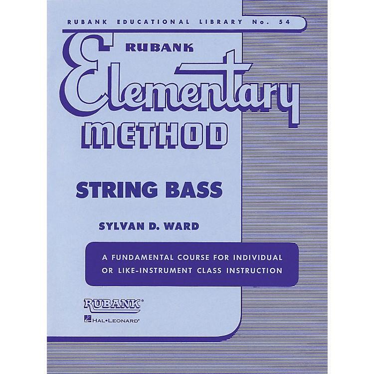 Hal LeonardRubank Elementary Method - String Bass