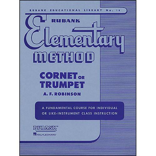 Hal Leonard Rubank Elementary Method Cornet Trumpet