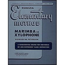 Hal Leonard Rubank Elementary Method Marimba Or Xylophone