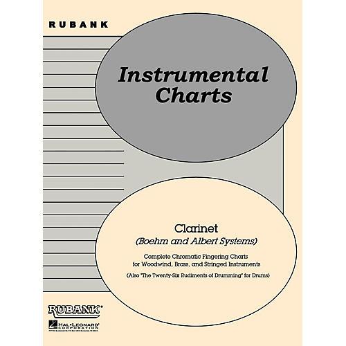 Rubank Publications Rubank Fingering Charts - Clarinet (Boehm and Albert systems) Method Series-thumbnail